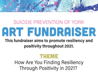 Suicide Prevention of York Art Fundraiser